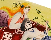 An illustration after an Romanian folk poetry!