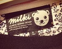 Milki Original Design-Blackwhale