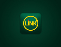 Link Móvil - Android app mockup