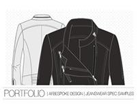 PORTFOLIO   DESIGN SPECIFICATION SHEETS