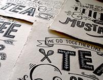 Original Art: Hand Lettering Series