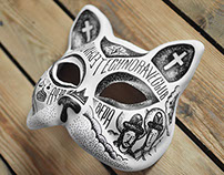 Cat Mask Painting