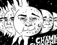 "CHAMBER CHANCHERS ""Sun/Moon shirt"""