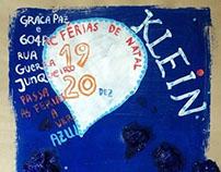 Yves Klein kids art class poster