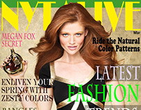 NYTALIVE | My Magazine | Cover Design | Inspiration