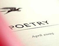 Poetry Magazine redesign