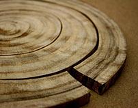 Tree Ring Trivet