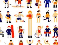 Iconos & diseño / Campaña deportes UCA 2010/2011