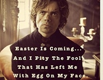 Fun with #GOTMeme. Game Of Thrones Pics courtesy of HBO