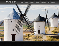 Core - Responsive One Page WordPress Theme