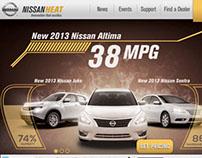 Nissan Heat Landing Page