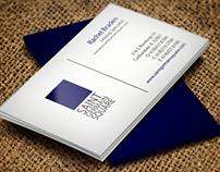 Saint Germain Square Business Card