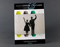 SFMOMA Brochure: Charles and Ray Eames