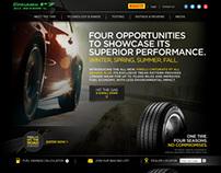 Pirelli North America P7 Microsite & Facebook App.