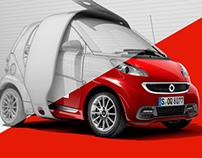 Smart, Audi, Mercedes, Fiat - Automotive