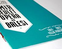 Izmir State Opera and Ballet / Annual Program Book