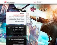 artinstitutes.edu redesign - Homepage
