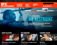 IFC Entertainment - Web Design