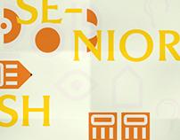 VCU Graphic Design Senior Show poster