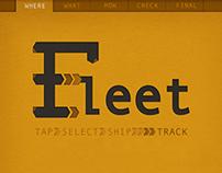 Fleet | Shipping App