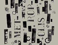 Metropolis Typeface & Poster