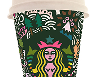 Starbutts Cup Doodles