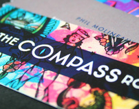 The Compass Room - Identity for Bar & Restaurant