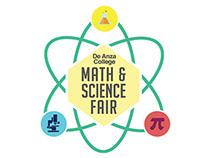 Logo -- De Anza College Math & Science Fair