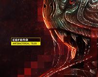 Corona (Antibacterial tiles)