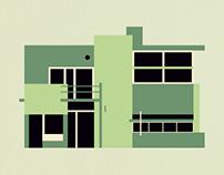 Arquitectura Moderna / Ilustración