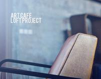 Art cafe loft project