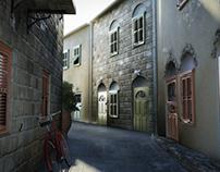 Island Alley - 3D Visualisation