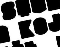 SLUKONI font project