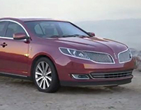 Photo real car rendering of MKS