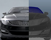 Lincoln MKZ render