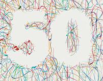 50th Anniversary Branding