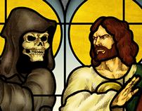 La Santa Muerte VS San Judas Tadeo