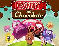 Candy Vs Chocolate