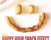 SONIC Happy Hour Snacks social media campaign