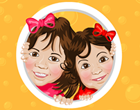 Myiesha & Tihani's Doorgift Tag