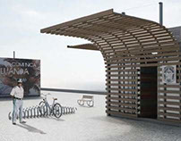 Modular architectural for comercial spaces
