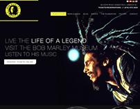 Bob Marley Museum Website Mock Up