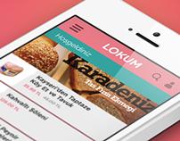 Lokum.com Application Concept