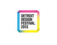 Detroit Design Festival 2013 Identity