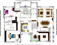 Mr.Hijazi Villa - Ceiling Designs