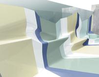 Tectonic bathroom concept, 2003