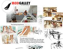 33' Sailboat Kitchen Concept