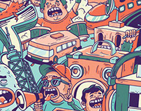 Lollapalooza Poster Contest   2013