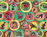Kids alphabet + pattern