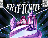 Concept Art | My Comic Book | Inspiration | KRYPTONITE